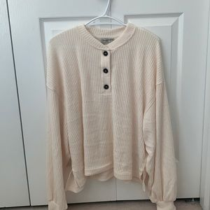 Urban outfitters day dreamer cozy Henley top